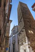 Fermo - Historic buildings — Fotografia Stock