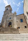 Monterubbiano - antica chiesa — Foto Stock