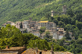 Old towns along the Salaria road — Stock Photo