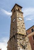 Amatrice, antigua torre — Foto de Stock