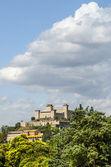 Castillo de spoleto — Foto de Stock