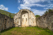 Ruins of church in Umbria — Stock Photo