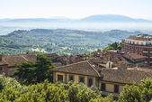 Perugia (Umbria) at morning — Stock Photo