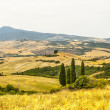 Stock Photo: Landscape in Val d'Orci(Tuscany)