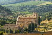 Sant'Antimo (Tuscany) — Stock Photo