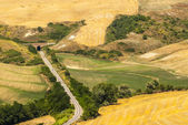 Railway in Tuscany — Stock Photo