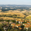 Постер, плакат: Panoramic view from Volterra Tuscany