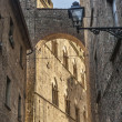 Постер, плакат: Volterra Pisa Historic buildings