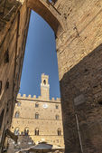 Volterra (Pisa) - Historic buildings — Stock Photo