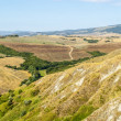Landscape near Volterra (Tuscany) — Stock Photo