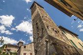 Vicopisano (Pisa) - Medieval tower — Stock Photo