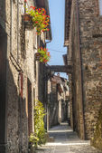 Filetto (Tuscany) - Ancient village — Stock Photo
