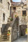 Filetto (Tuscany) - Ancient village — Foto de Stock