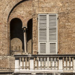 Parma (Italy) - Windows - Stock Photo