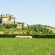 Castle of Torrechiara (Parma) — Stock Photo