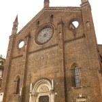 Постер, плакат: Piacenza Ancient church of San Francesco