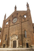 Piacenza - Ancient church of San Francesco — Stock Photo