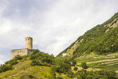 Martigny (Switzerland) - Castle — Stock Photo