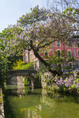 Old bridge on the Martesana canal (Milan) — Foto Stock