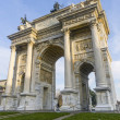Milan: Arco della Pace — Stock Photo