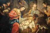 Santa Maria delle Grazie (Milan): Nativity, painting — Stock Photo