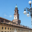 Vigevano: Piazza Ducale — Stock Photo