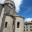ストック写真: Sisteron, Citadelle and Cathedral
