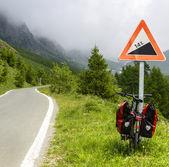 Colle dell'Agnello, Val Varaita — Foto de Stock