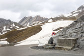 Colle dell'Agnello, French Alps — Stock Photo