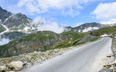 Colle dell'Agnello, Italian Alps — Stock Photo