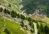 Colle dell'Agnello, Val Varaita — Stock Photo