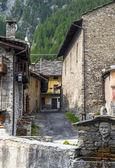 Chianale (Italian Alps) — Stock Photo