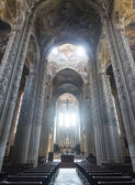 Cathedral of Asti, interior — Stock Photo