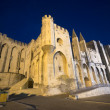 Avignon, Palais des Papes by night — Stockfoto