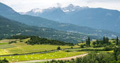 Landscape near Embrun (France) — Stock Photo