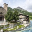 Chianale (Italian Alps) — Stock Photo