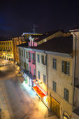 Casale Monferrato by night — Stock Photo
