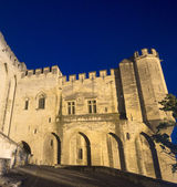 Avignon, Palais des Papes by night — Stock Photo