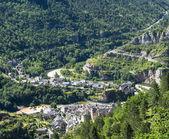 Sainte-Enimie, Gorges du Tarn — Stock Photo