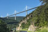 Bridge of Millau (France) — Stock Photo