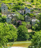 Gorges du tarn, de village — Photo