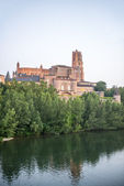 Albi (France), cathedral — Stock Photo