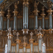 Albi (France), cathedral organ — Foto de Stock