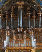 Albi (France), cathedral organ — Stock Photo