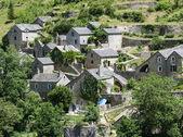 Gargantas du tarn, aldeia — Fotografia Stock