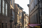 Albi, typical old street — Stock Photo
