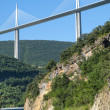 Bridge of Millau (France) — Stock Photo