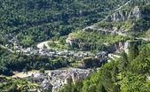 Sainte-Enimie, Gorges du Tarn — Zdjęcie stockowe