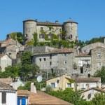 Parc des Cevennes, historic village — Stock Photo #36411975