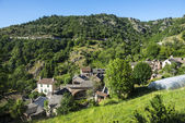 Cevennes: old typical village — Stock Photo